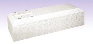 屋根型布棺(白)